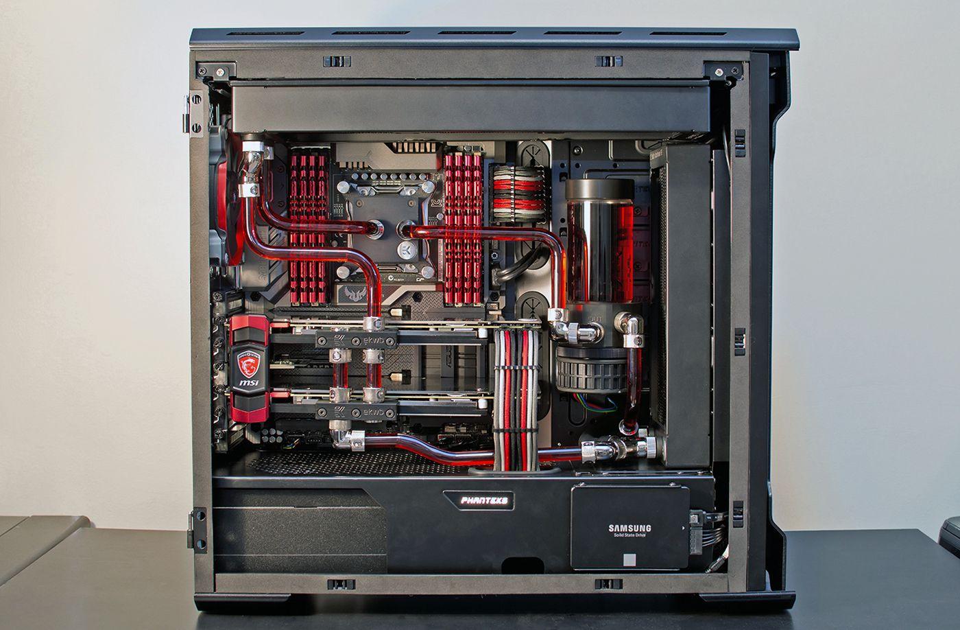 03 Jpg 1400 918 Computer Build Computer Case Deep Red