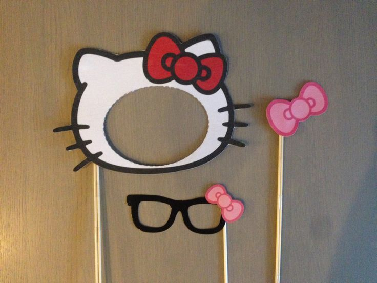 Photo booth Hello Kitty Pinteres