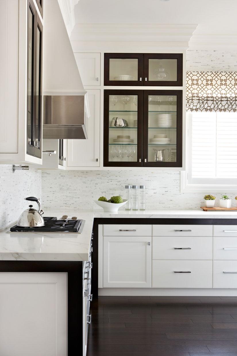 contrasting inset cabinet doors - gluckenstein home   kitchens ...