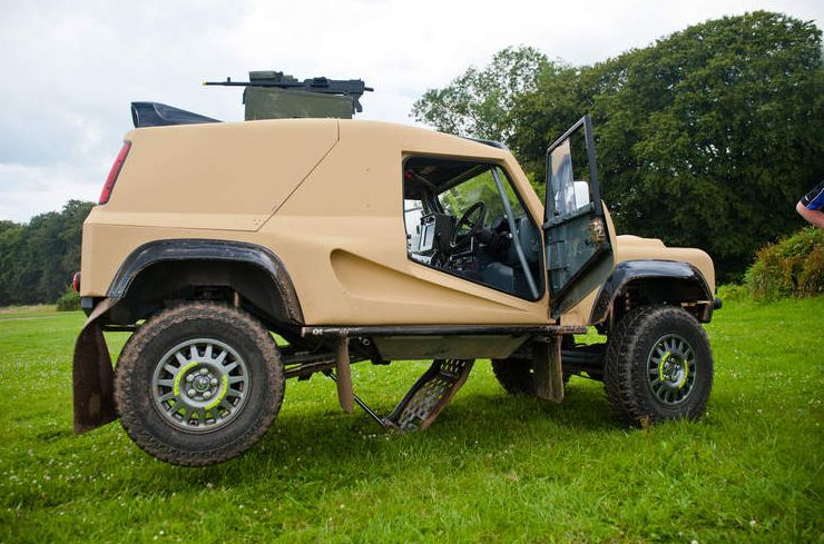 Special Forces Tactical Assault Bowler Wildcat Land Rover