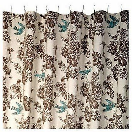 Waverly Toile Curtains Waverly Wellington Toile Shower Curtain