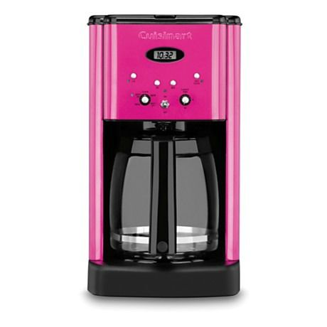 Metallic Pink Cuisinart Coffee Maker