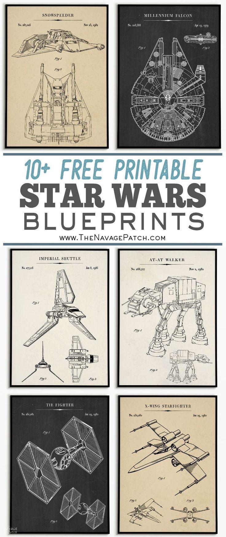 Star Wars Blueprints images