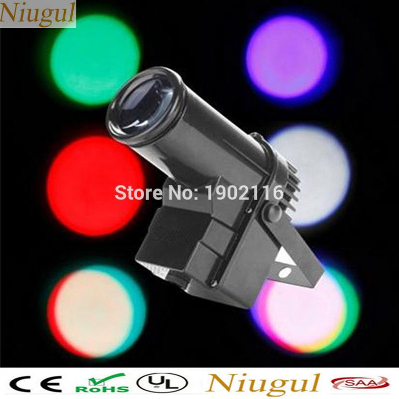 Niugul Disco Dj Lighting Led Mini 10w Led Pinspot Light Rgbw Led Dmx512 Stage Beam Light Nightclub Ktv Bar Party H Nightclub Lighting Led Spotlight Dj Lighting