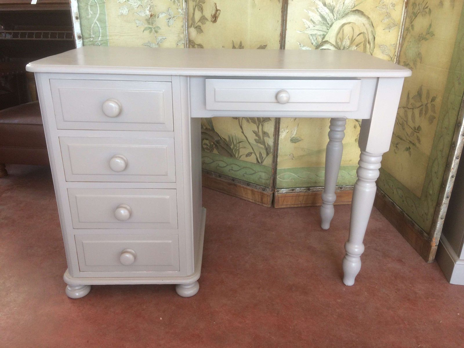 painted solid pine dressing table desk in home furniture diy rh pinterest ca