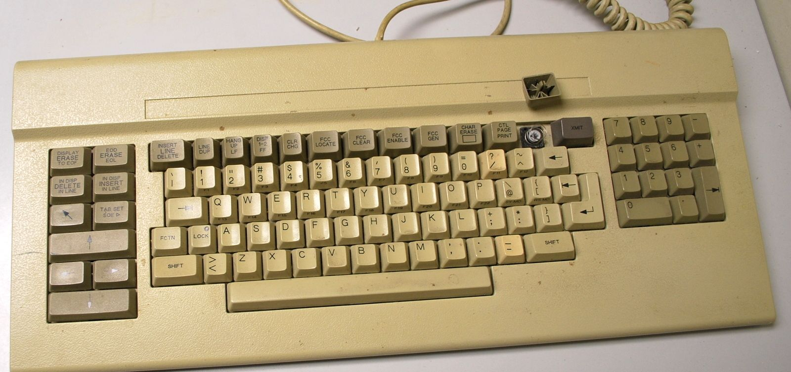 Vintage Terminal Keyboard Made In Usa F 4725 25 Keyboard How To Make Vintage