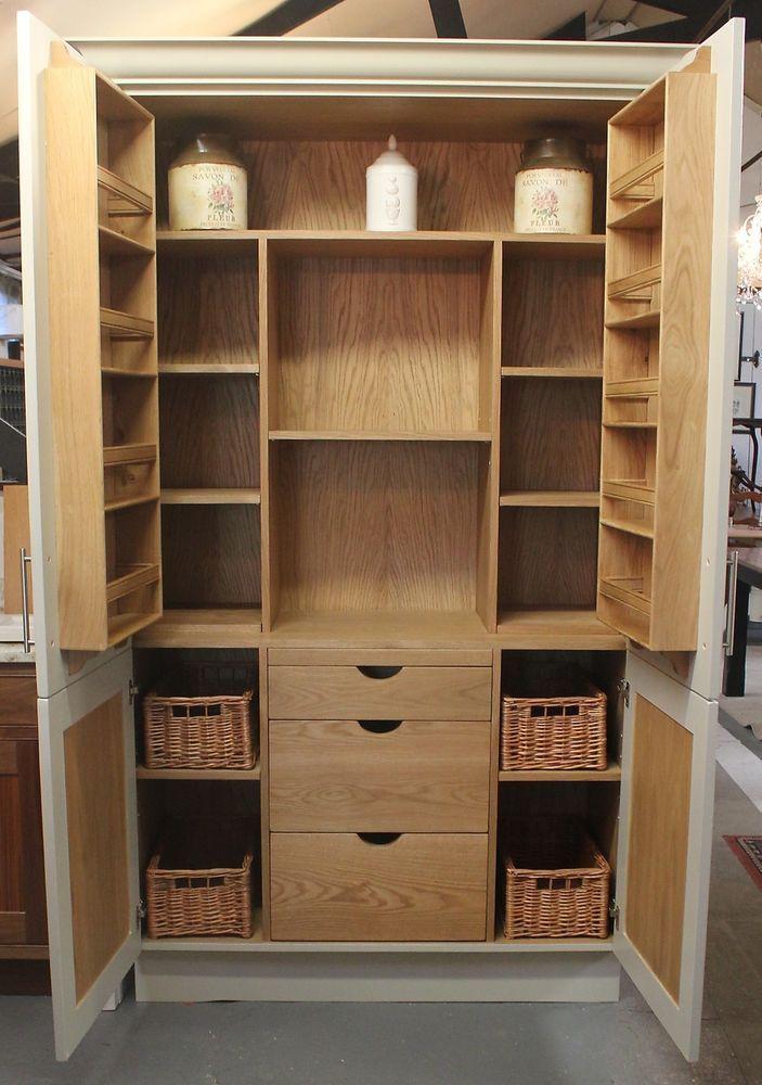 Hand Made Painted Bespoke Kitchen Larder Cupboard Unit | Küche ...