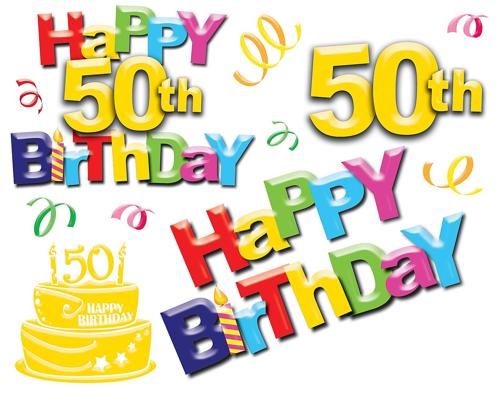 happy 50th birthday messages – 50th Birthday Greetings Messages