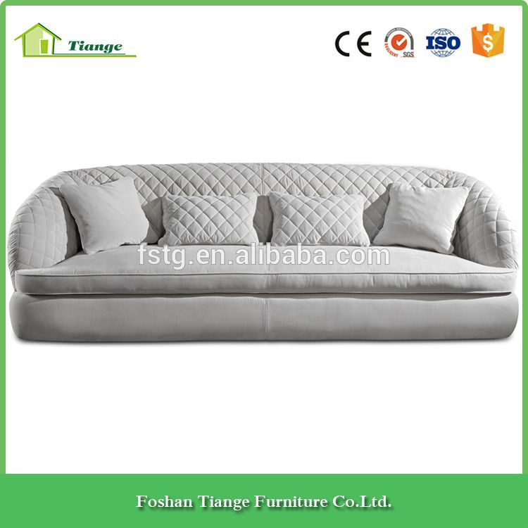 Awesome Italian Design Ivory Color Fabric Upholstery Sofa Portofino Cjindustries Chair Design For Home Cjindustriesco