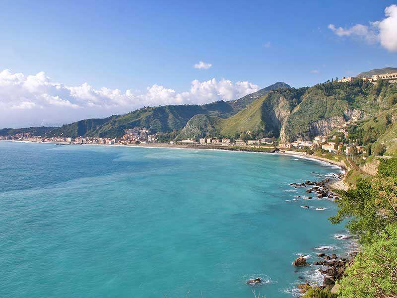 Taormina (con immagini) Spiagge, Idee di viaggio, Sicilia