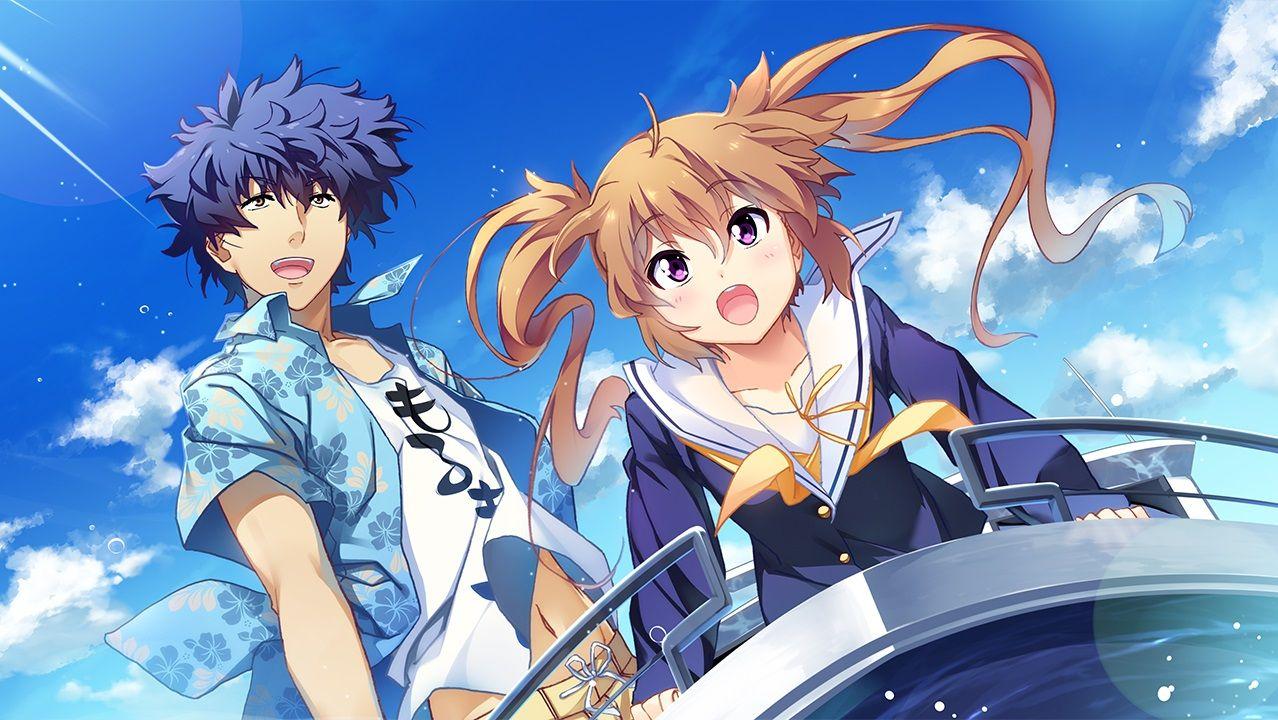 ISLAND Visual Novel terá anime Anime, Visual novel, Hina