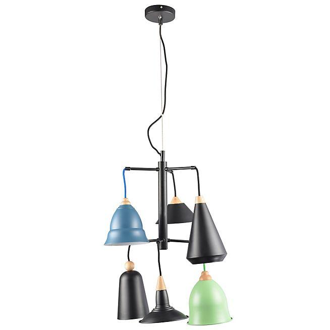 139 alinea santos suspension lumineuse 6 lumi res luminaires pinterest luminaire. Black Bedroom Furniture Sets. Home Design Ideas
