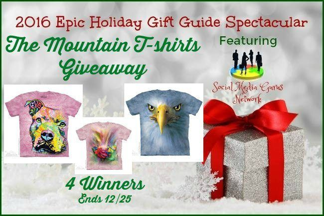 The Mountain T-shirts Giveaway (Ends 12/25) http://optimisticmommy.com/mountain-t-shirts-giveaway-ends-1225/?utm_campaign=coschedule&utm_source=pinterest&utm_medium=Courtney%20%40%20Optimistic%20Mommy&utm_content=The%20Mountain%20T-shirts%20Giveaway%20%28Ends%2012%2F25%29