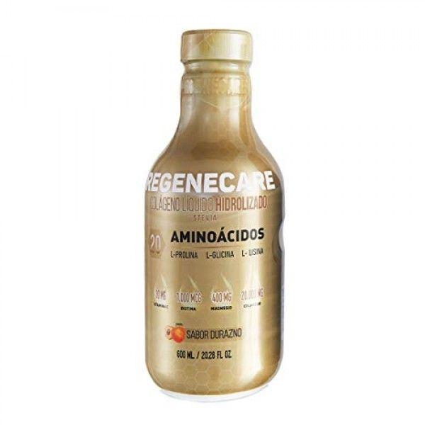 Regenecare Hydrolyzed Collagen Liquid for Healthy Hair, Skin, Nai...