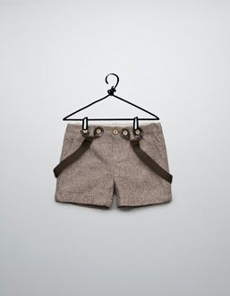 checked shorts with braces for boys! LOVE it!