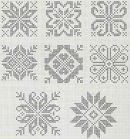 схемы рисунка для вязания спицами