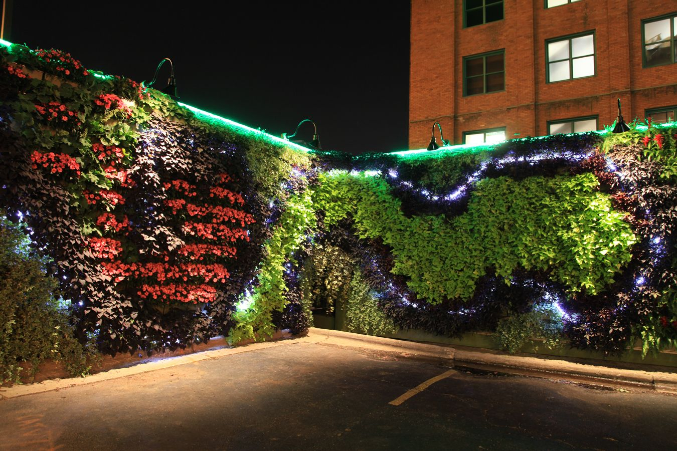 Creating Paradise In Heart Of City Green Wall Light Green Walls