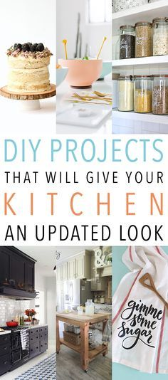 Ideas : DIY Projects That Will Give Your Kitchen An Updated Look
