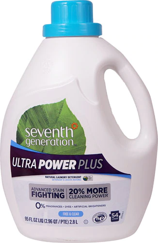Seventh Generation Laundry Detergent Natural Free Clear Ultra