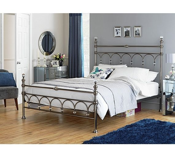Buy Heart of House Leilani Double Bed Frame   Chrome at Argos co uk. Buy Heart of House Leilani Double Bed Frame   Chrome at Argos co
