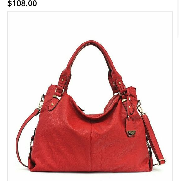 0b369f0bb4 Jessica Simpson Handbag Purse Jessica Simpson Brick Red handbag name Mara brand  new Perfect for everyday wear