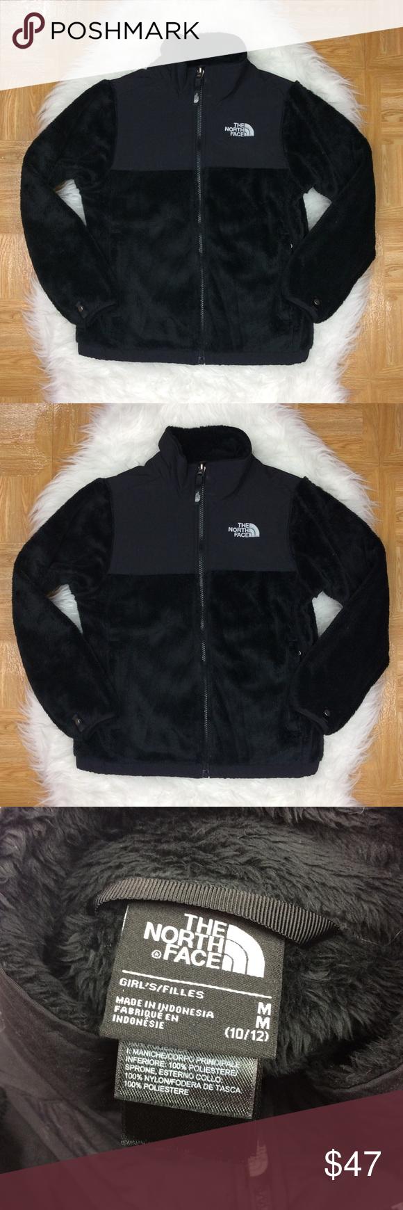 The North Face Girls Denali Fuzzy Fleece Jacket The North Face Denali Fuzzy Fleece Jacket Black Style Aqlk Gir North Face Girls Clothes Design Fleece Jacket [ 1740 x 580 Pixel ]