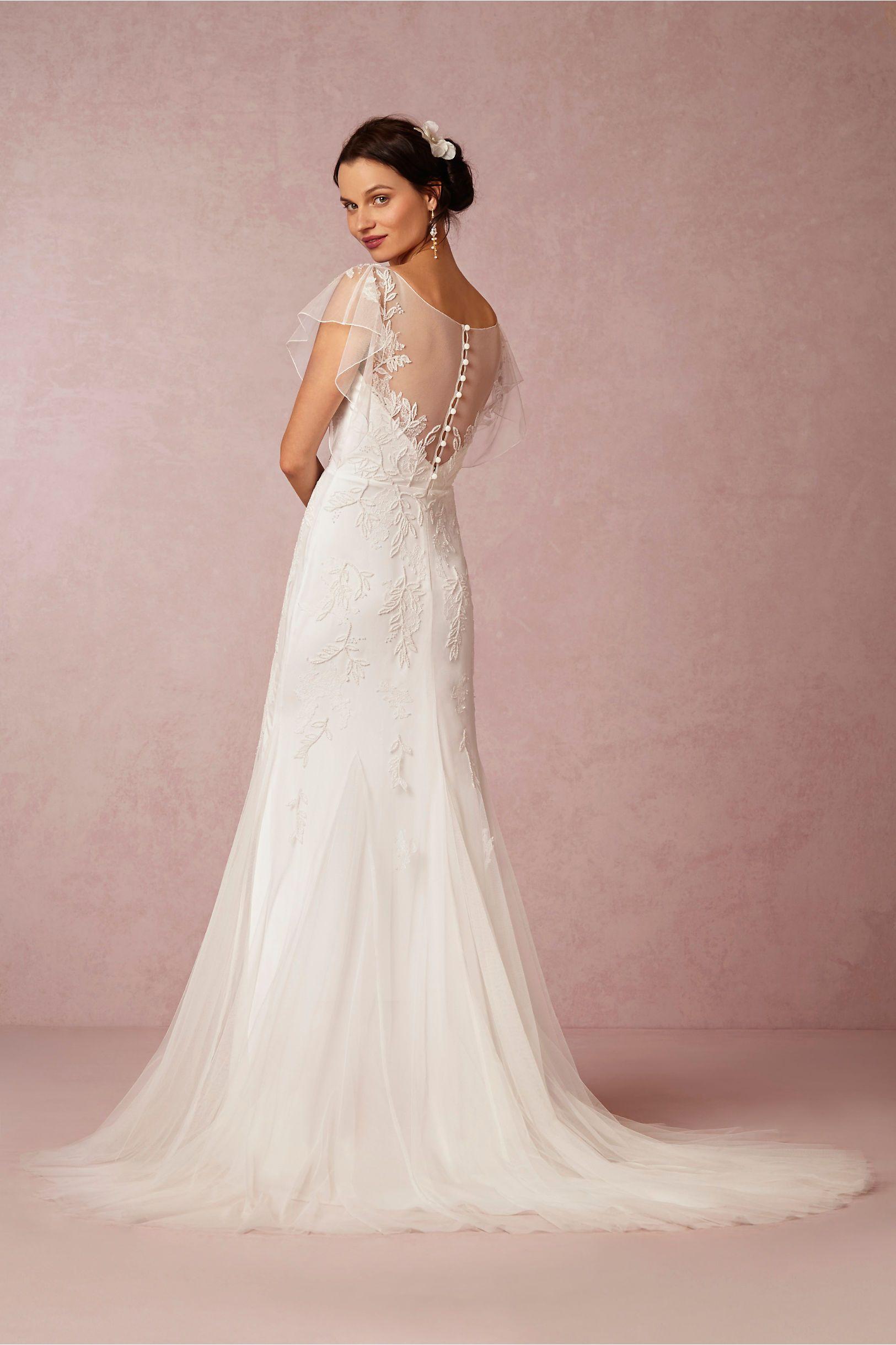 Bettina Gown from @BHLDN | Mandatory Wedding Board | Pinterest ...