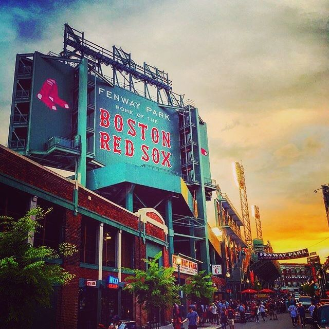 Can't wait to be back at #Fenway next month!!!! The annual tradition continues get ready @bigrichiam it's gonna be #magical bro!!!! #fenwaypark #redsox #boston #bostonredsox #baseballgame #baseball #sports #fun #bigrich #first #trip @redsox @mlb