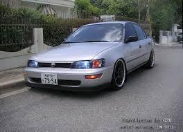Resultado De Imagen Para Toyota Corolla 1995 Tuning Toyota Corolla Toyota Corolla 1995