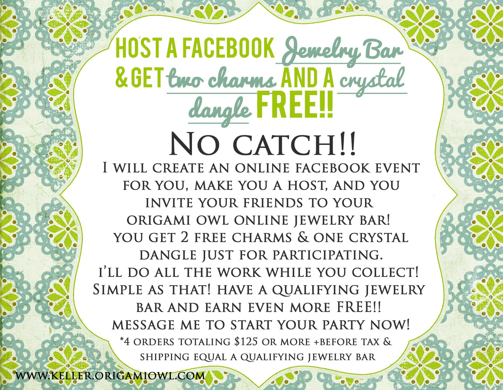 Fun game to try at the next Jewelry Bar origamiowl – Jewelry Party Invite