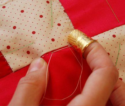 Hand quilting tutorial | Quilting | Pinterest | Tutorials, Hand ... : hand sewn quilt patterns - Adamdwight.com