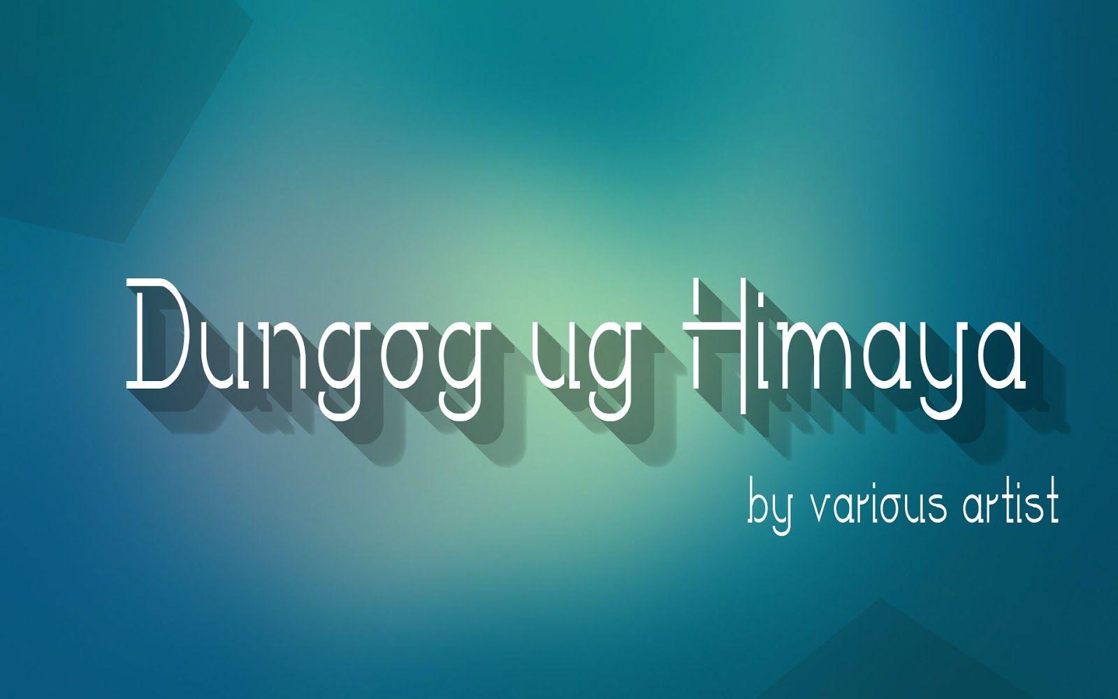 Dungog Ug Himaya By Various Artist Pinterest Guitar Chords