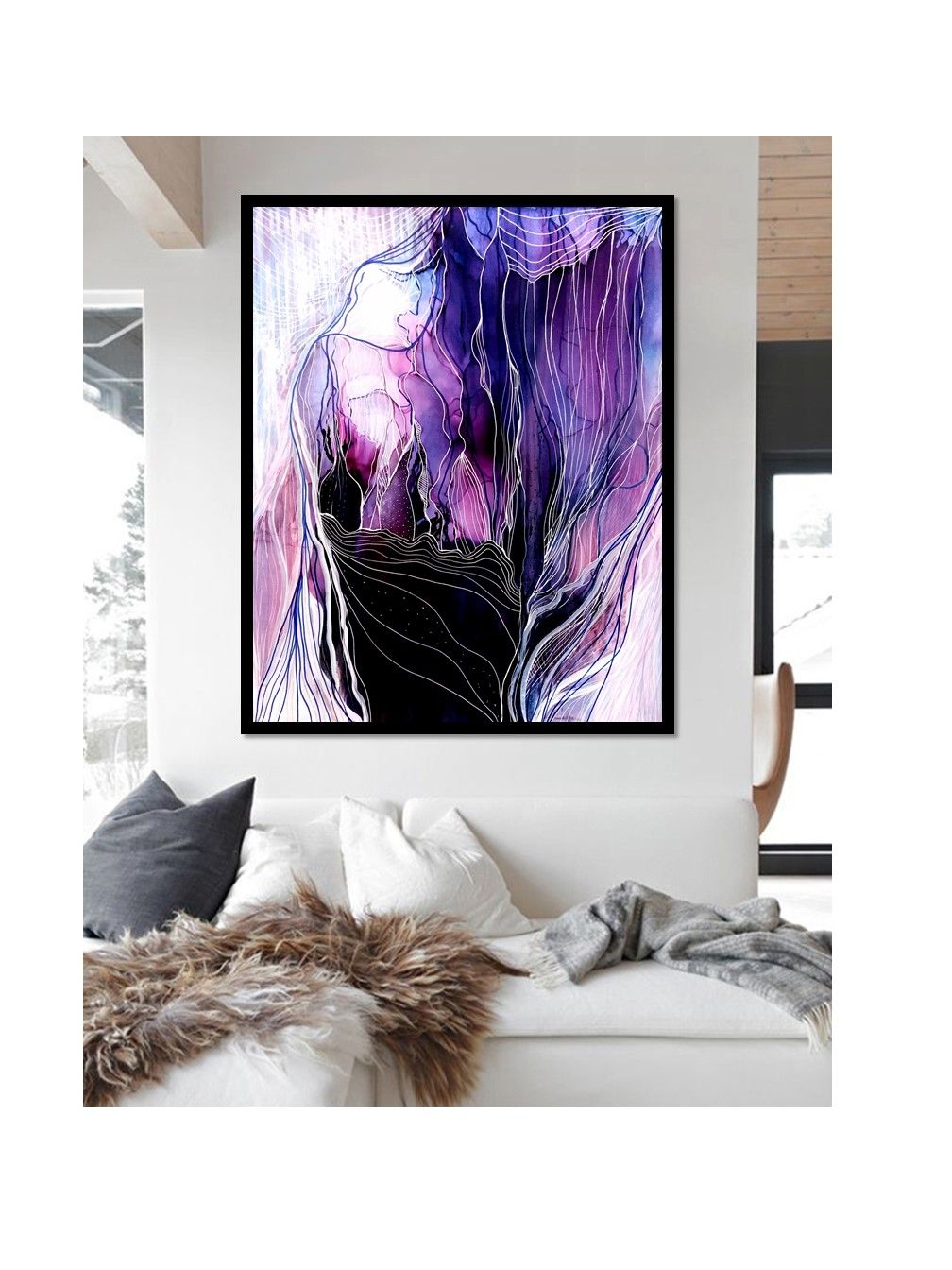 Pin by Roxy Starr on ink paintings Abstract artists