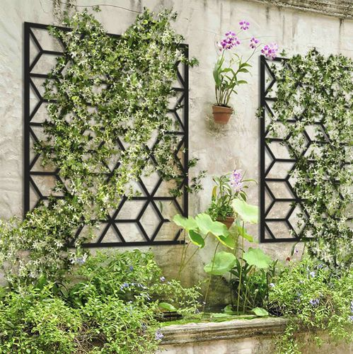 Treillage Pour Mur Vegetal Cube 1000 14 Palissa Design