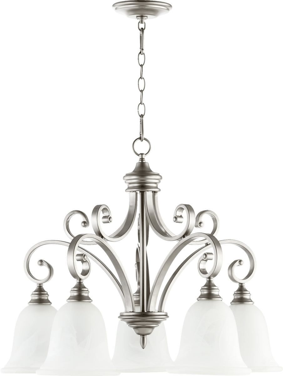 Photo of 0-030356>30″w Bryant 5-Light Chandelier Classic Nickel