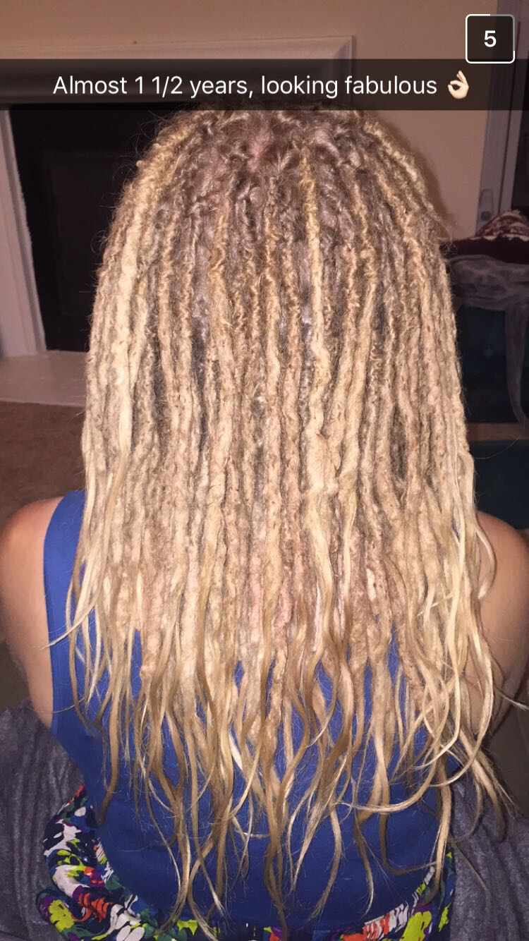 1 1 2 Year Old Dreads