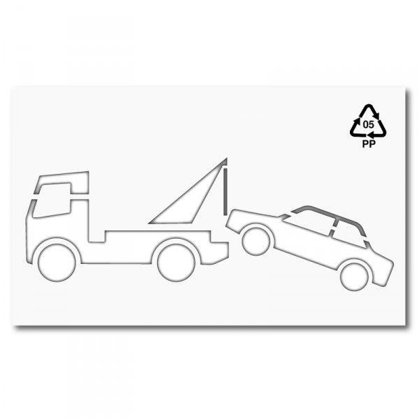 Plantilla Para Pintar Y Marcar Signo Retirada Grua Polipropileno Pvc Aluminio O Metal Senalizacion Horizontal Y Seguridad Vial Estacion De Servicio Polipropileno Plantas