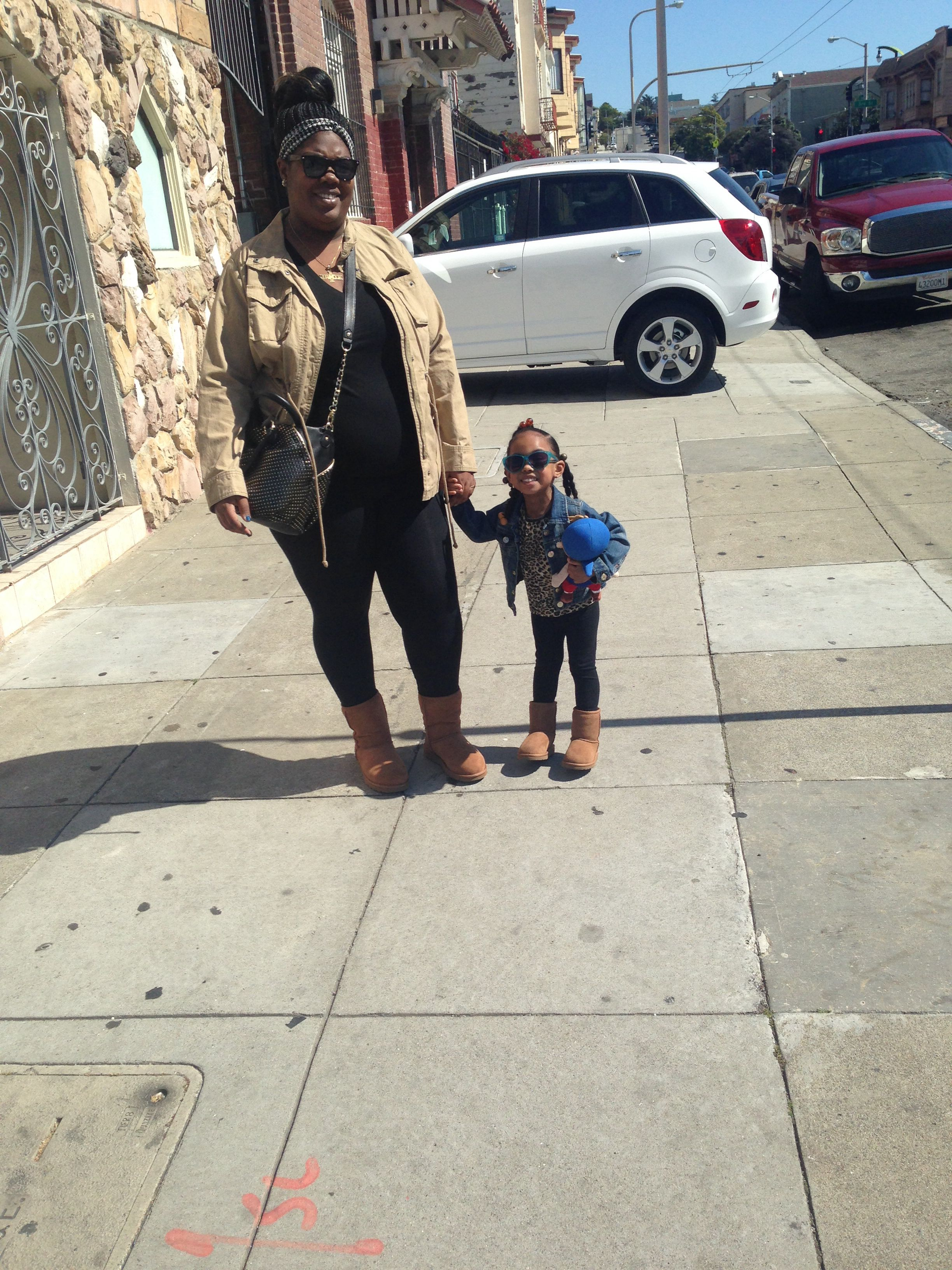 Mommy & daughter Uggs day!