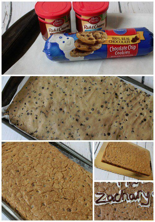 Homemade Great American Cookie Cake Recipe How To DIY A Birthday For Your Kids