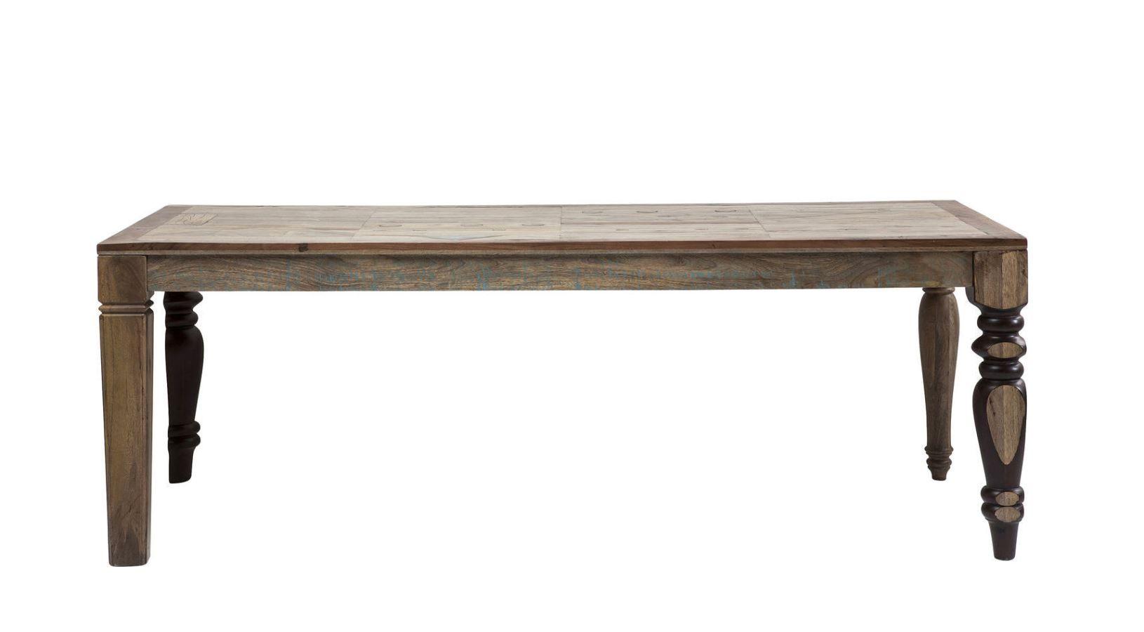 KARE Tisch Duld Range Vintage Antik 220x100cm