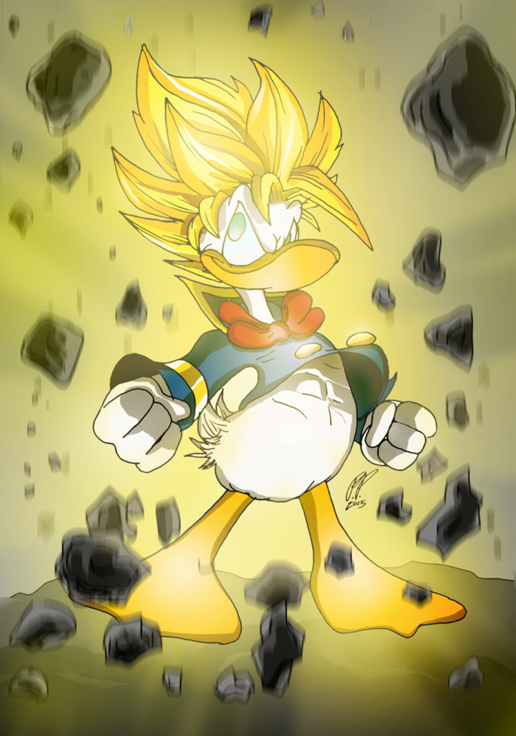 Donald Duck Is Over 9000 !!!!! by Paritos | SUPER SAIYAN ...