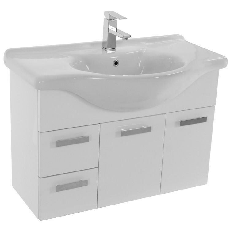Bathroom Vanity Acf Ph08 32 Inch Vanity Cabinet With Fitted Sink