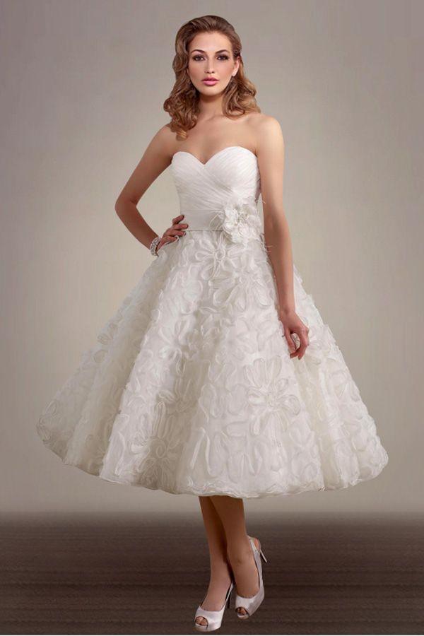 plus size tea length wedding dresses. wedding dress lace tea ...