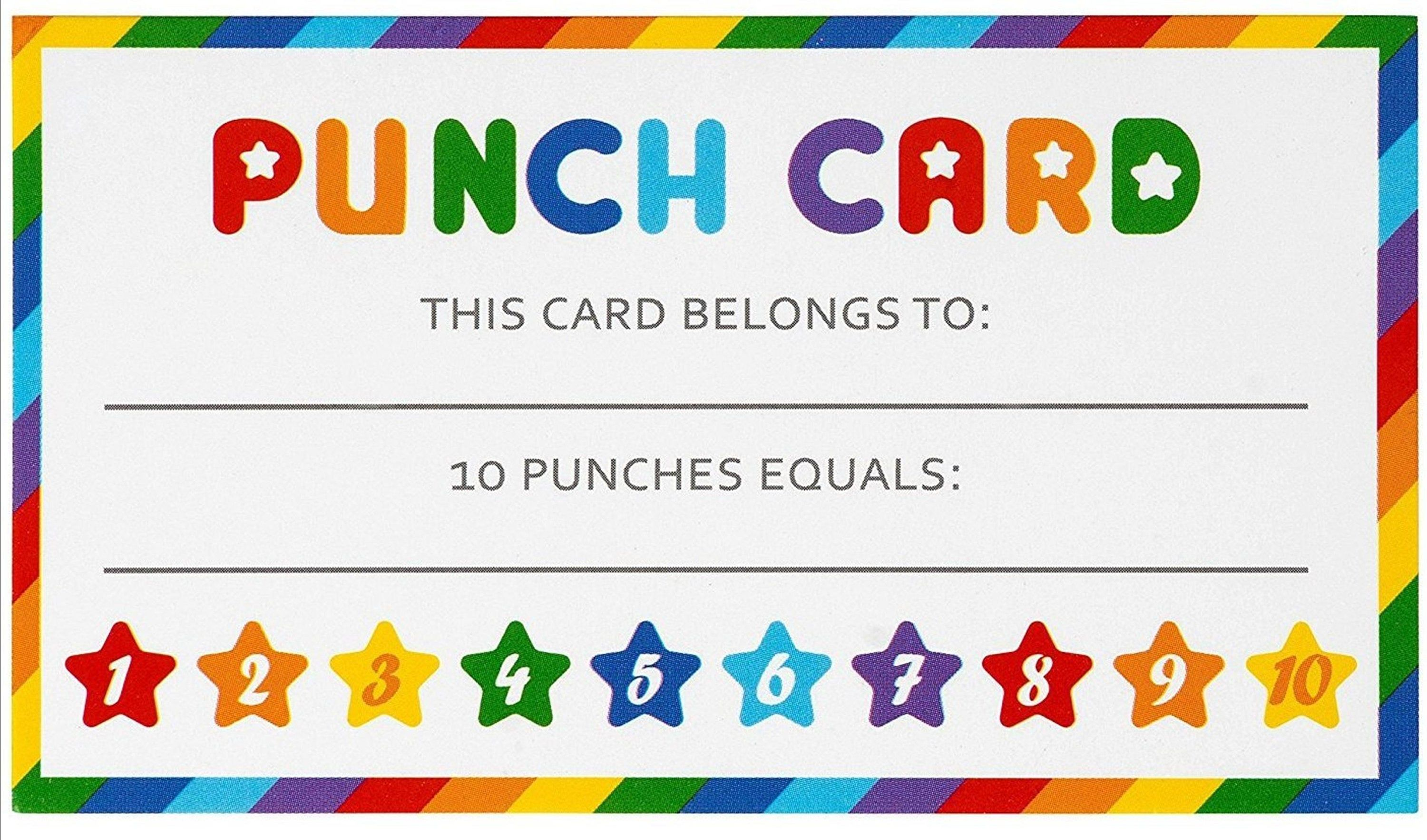 Punch Card Download Pdf 21 Punch Cards Pdf File To Do Punch Etsy Printable Chore Cards Punch Cards Chore Cards