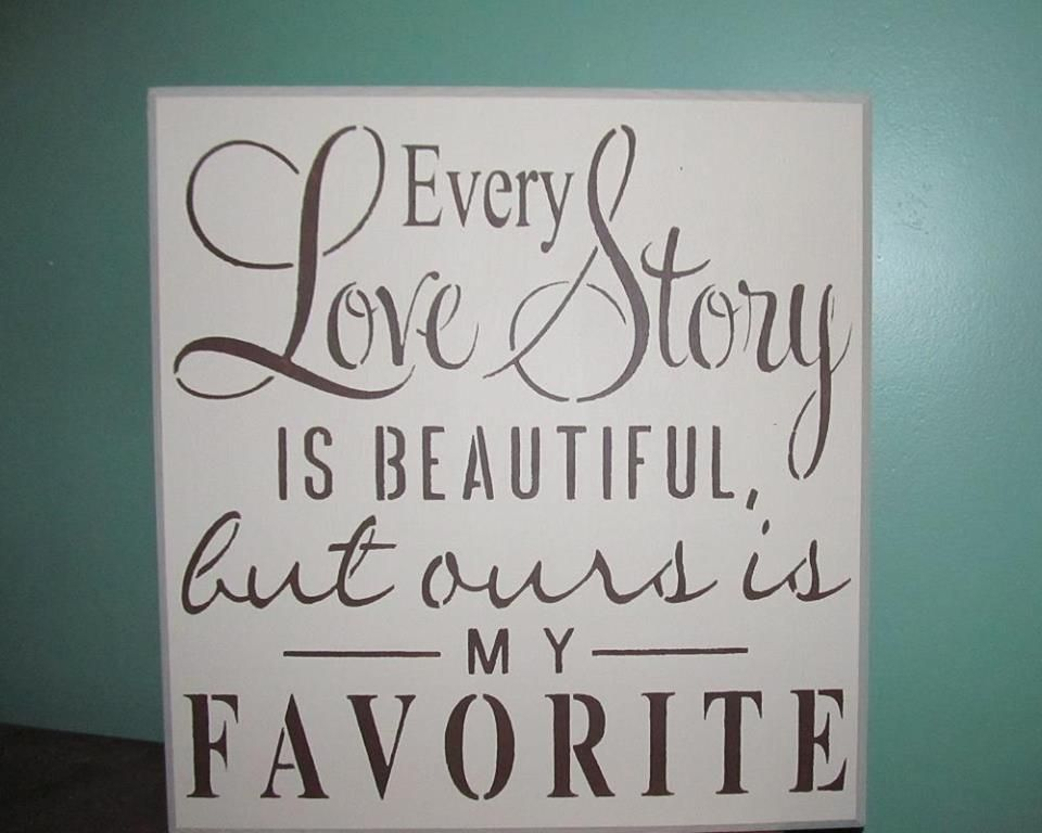 X handmade wood sign every love story is beautiful quote wall decor rustic home decor the rustic shop