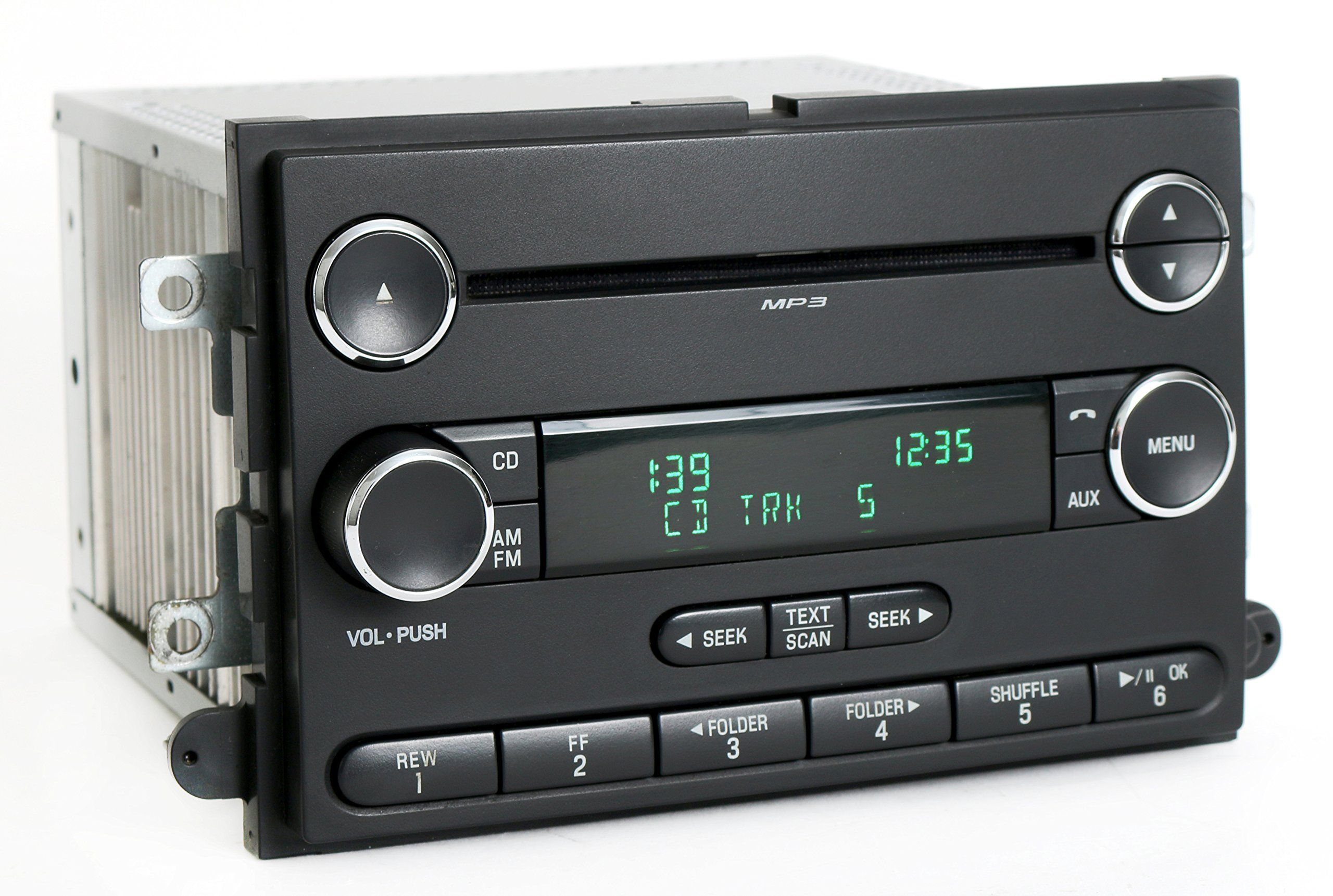 Ford pickup am fm cd player radio part number professionally remanufactured oem unit features am fm cd player plug and play functionality