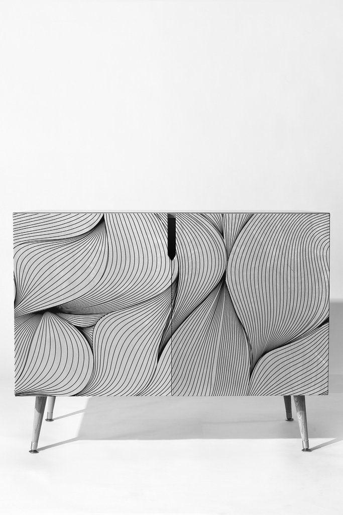 Emanuela Carratoni Seamless Lines Credenza | DENY Designs Home Accessories