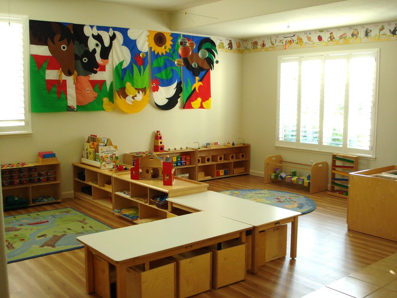 Toddler Daycare Room Setup