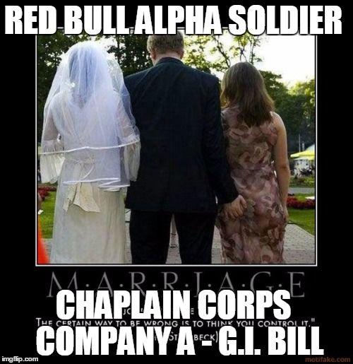 cffe61606852571d4ec46751536c4e68 red bull alpha soldier chaplain corps company a g i bill