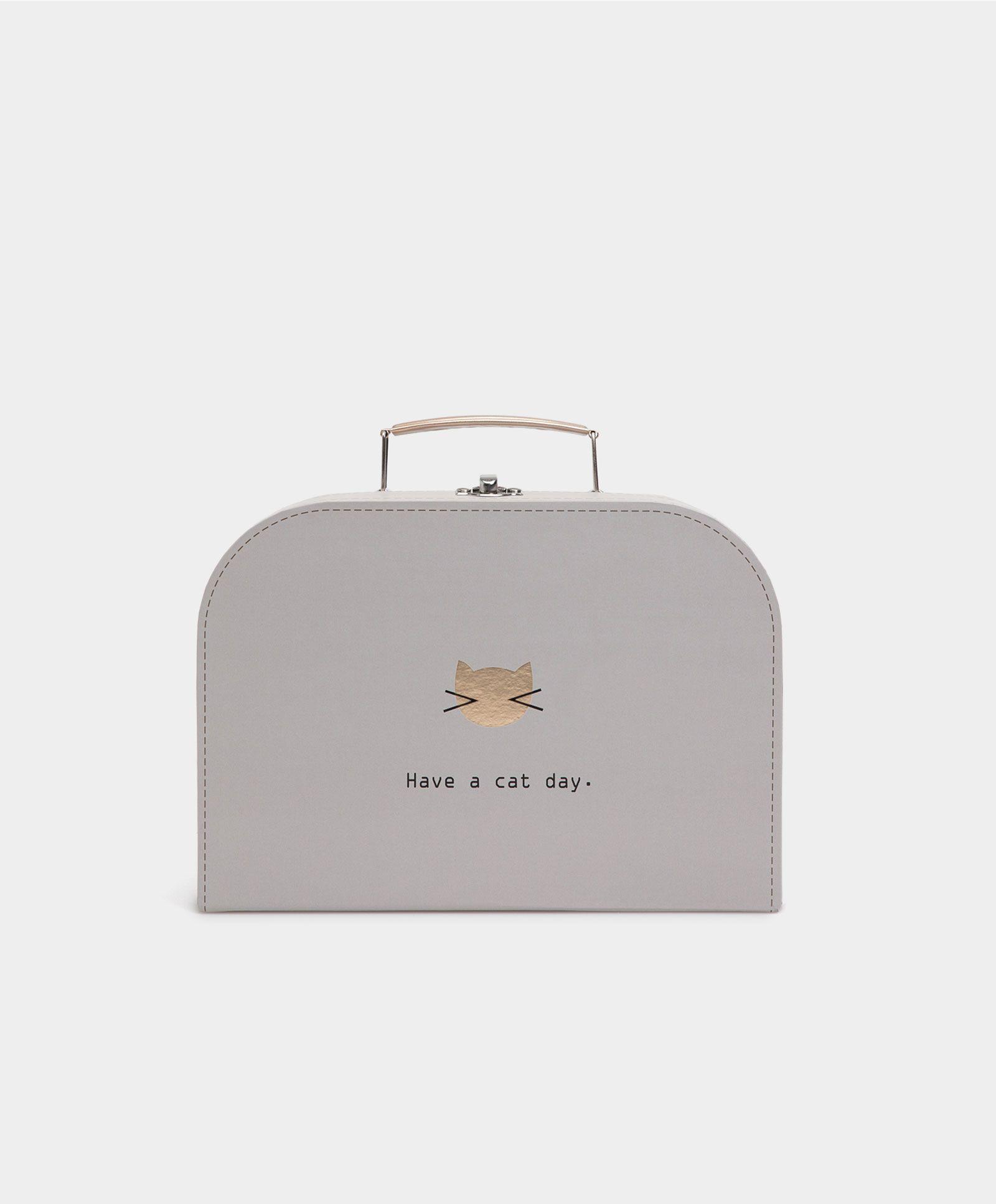Boîte cat day - Accessoires - NUIT | Automne Hiver 2016 - Oysho België/Belgique